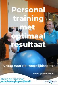 Personal training poster