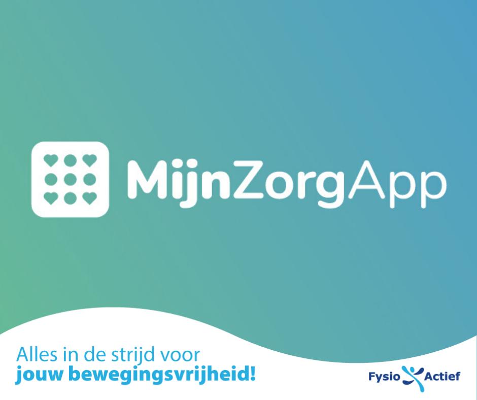 MijnZorgApp afbeelding van het logo