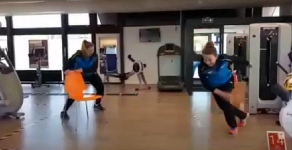 Tabata thuis work out niveau 1, 2 en 3 door onze Sport Actief trainers