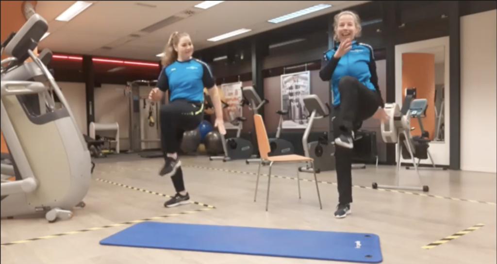 Workout stabiliteit benen core fysio actief